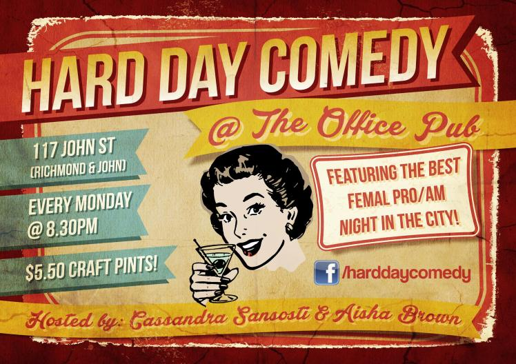 hardday comedy