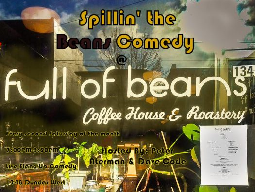 spillin beans