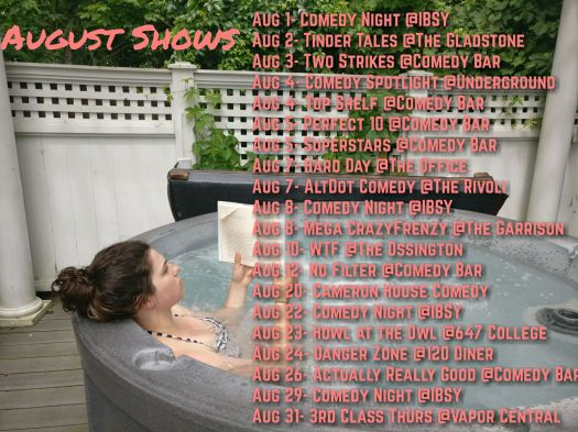 aug shows